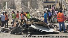 Somalia Mogadischu Autobombenanschlag