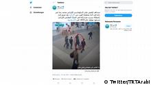 Twitter Screenshot | Verhaftung des iranisches Diplomat in Istanbul