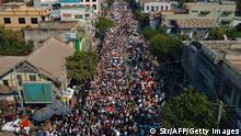 Myanmar | Protest gegen Militärputsch