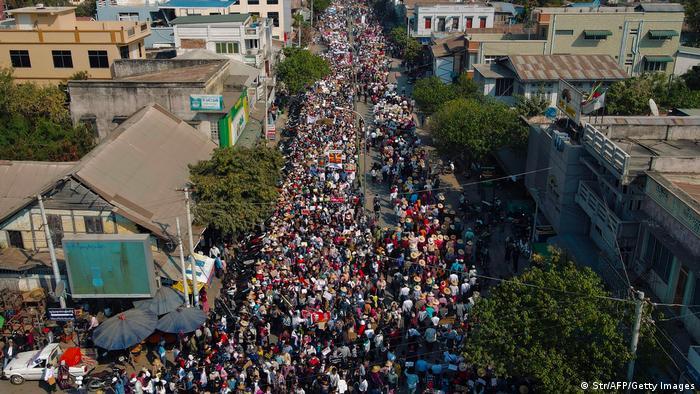Протести в М'янмі