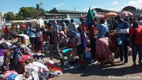 Mosambik I Plaetze ohne Soziale Distanz in Maputo