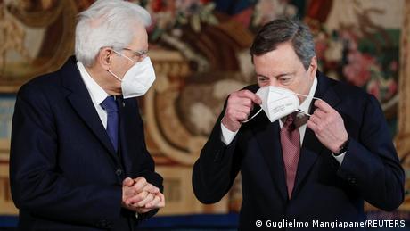 """Ντράγκι: """"Σε δύο μήνες βγαίνουν οι μάσκες"""""""