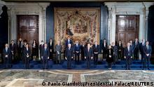Italien I Vereidigung der neuen Regierung in Rom