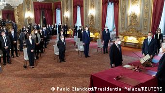 Yeni İtalyan hükümeti Cumhurbaşkanı Mattarella'nın huzurunda yemin ederek görevine başladı