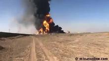 Grenze Iran Afghanistan Explosion