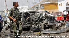 Somalia Selbstmord-Bombe in Mogadischu