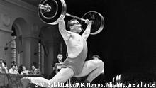 Gewichtheber Juri Wlassow (UDSSR)