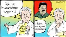 DW-Karikatur von Vladdo | Humanitäre Geste