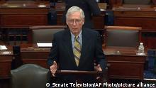 USA Impeachment Trump Senat   Mitch McConnell