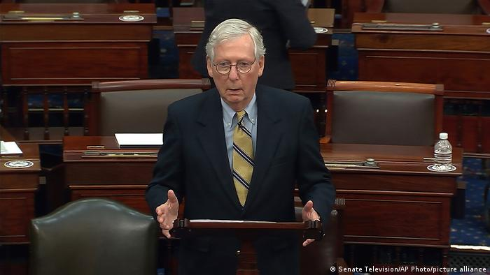USA Impeachment Trump Senat | Mitch McConnell