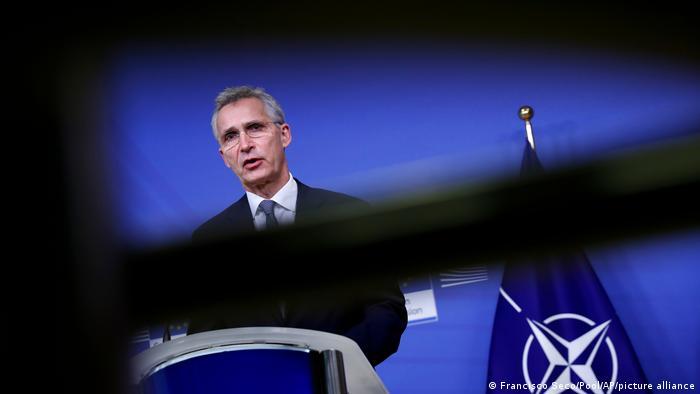 Brüssel NATO-Generalsekretär Jens Stoltenberg