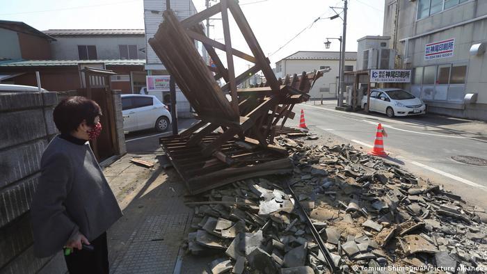 Earthquake today japan