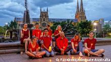 Australien Die Aktion Liebe ist stärker als Angst in Australien zu Unterstützung von Alexey Navalny und anderen politischen Gefangenen in Russland;