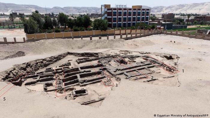 Panorámica del enclave arqueológico en Abydos.