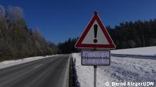Deutschland Waldsassen | Grenzübergang Tschechien | Grenzkontrolle
