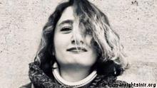 Stundentin Marjan Eshaghi wegen Teilnahme an Protesten 2019 im Iran verurteilt
