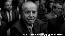 Argentinien Buenos Aires | Carlos Menem - ehemaliger Präsident von Argentinien