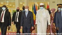 Tschad Ankunft des mauretanischen Präsidenten Mohamed Ould Ghazouani