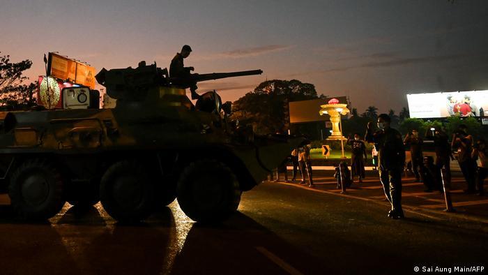 Myanmar Panzer in Yangon