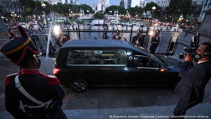 Argentinien Begräbnis Carlos Saúl Menem