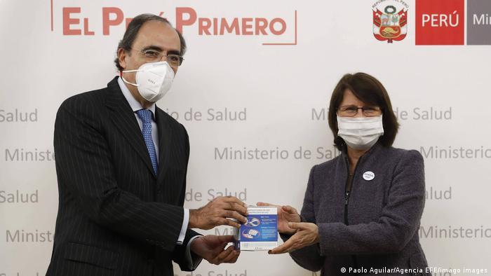Peru Alejandro Alvargonzález und Pilar Mazzetti
