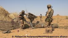 Burkina Faso Franzöische Soldaten Operation Barkhane