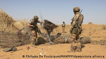 L'opération française Barkhane est présente dans le Sahel pour lutter contre le terrorisme