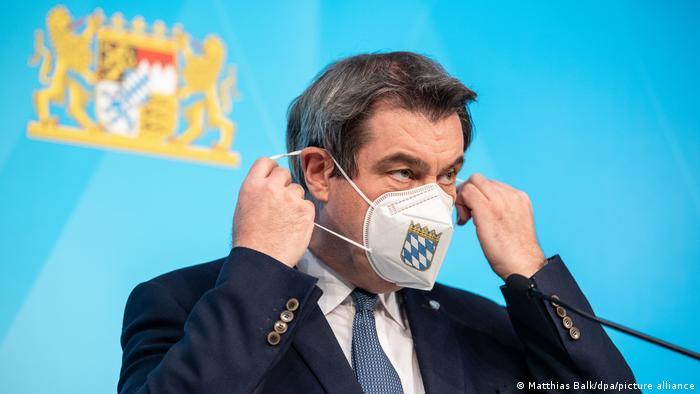Deutschland Coronavirus Markus Söder