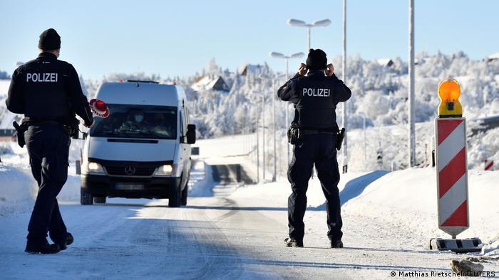 Weltspiegel 15.02.2021   Corona  Deutschland Grenzkontrolle Tschechien