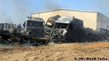 14.02.2021***Herat Provinz Selbe - Gewaltige Explosionen in Islam Qala an der Grenze zwischen Iran und Afghanistan. Etwa 500 Tankwagen sind in den Flammen zerstört worden