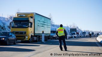 Γερμανία, σύνορα προς Τσεχία, έλεγχοι λόγω πανδημίας