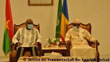 Tschad Besuch des Präsidenten von Burkina Faso, Roch Marc Christian Kaboré