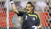 Torhüterin Nadine Angerer hielt im Finale gegen Brasilien einen Elfmeter und ließ während des ganzen Turniers keinen Gegentreffer zu.