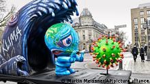 Coronavirus - Richtfest für Düsseldorf Miniatur-Rosenmontagszug