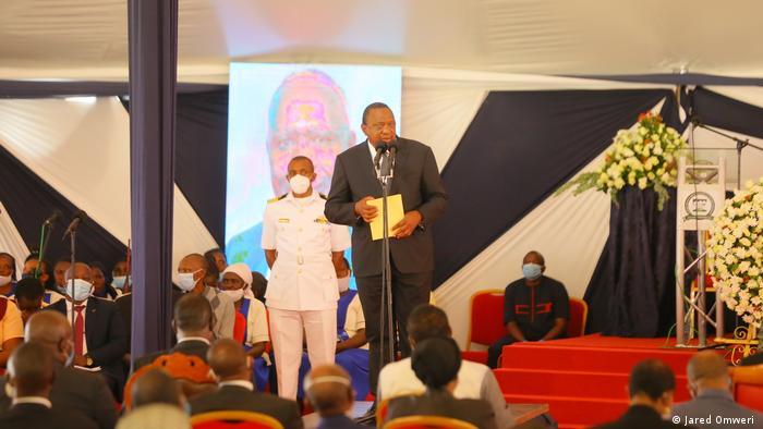 Afrika Kenia Beerdigung Simeon Nyachae, ehemaliger Politiker