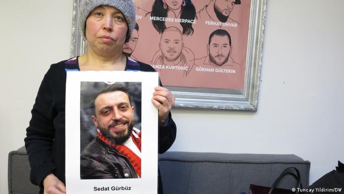 Emiş Gürbüz oğlu Sedat'ın fotoğrafıyla