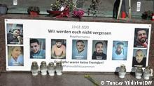 Deutschland | Gedenken an die Opfer des Anschlag in Hanau