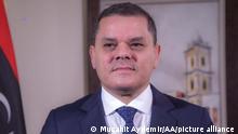 رئيس الحكومة الليبية المعين عبد الحميد دبيبة