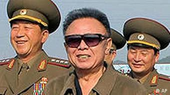 Nordkorea Kim Jong Il besucht Obstzucht