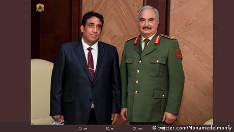 رئيس المجلس الرئاسي في ليبيا محمد المنفي