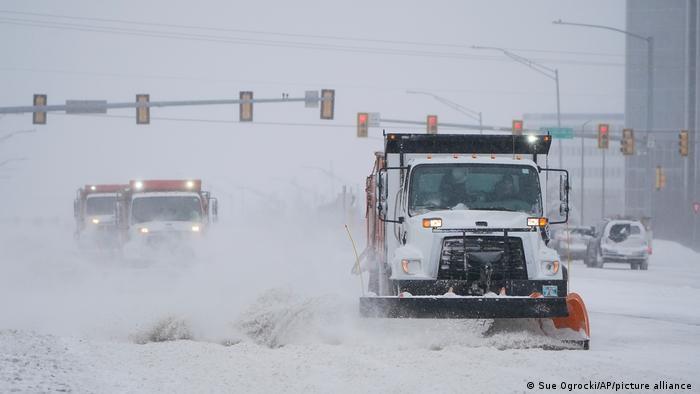 Historischer Wintersturm in den USA: Polarwirbel trifft Nordamerika