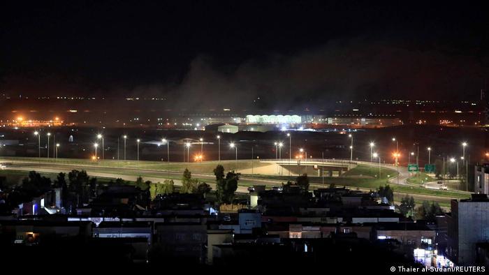 مطار أربيل في كردستان العراق
