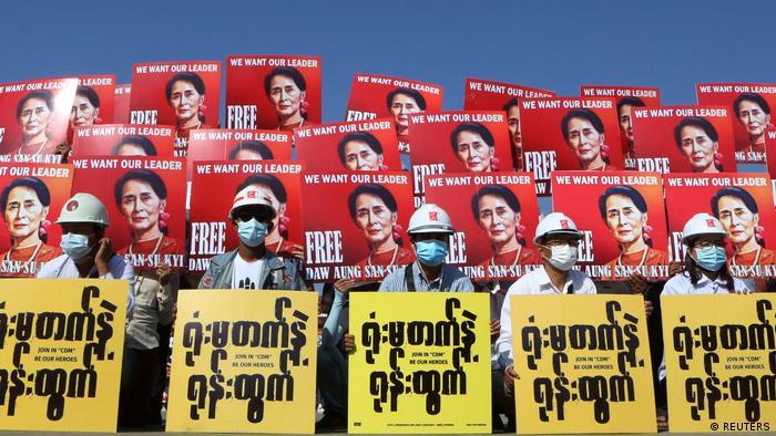اعتراضات در میانمار، علیرغم برخورد خشونتآمیز ارتش همچنان ادامه دارد
