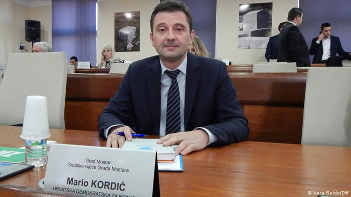Novi gradonačelnik Mostara dr. Mario Kordić