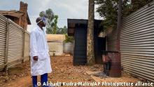 Weltspiegel 16.02.2021 | DR Kongo |Ebola, Quarantäne-Areal Matanda Hospital