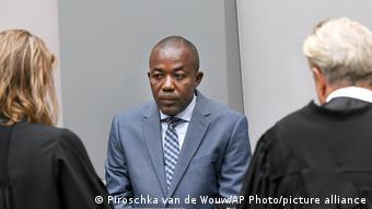 Alfred Yekatom devant la CPI en 2018
