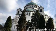 Belgrad Der Dom des Heiligen Sava