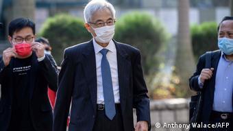 China | Hongkong | Gerichtsverhandlung gegen pro-demokratische Aktivisten