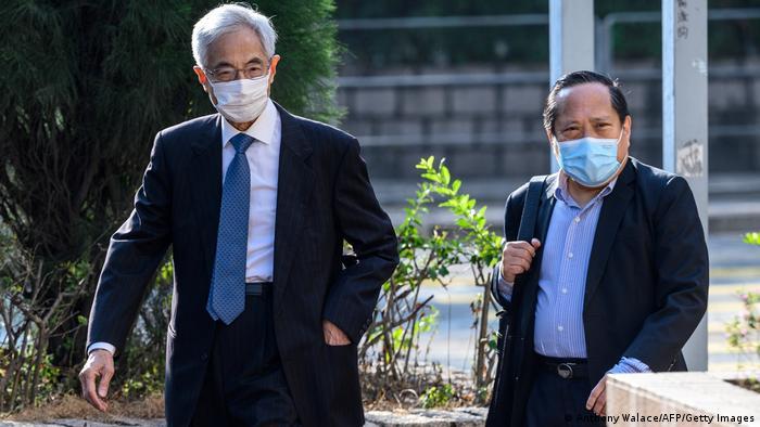 China   Hongkong   Gerichtsverhandlung gegen pro-demokratische Aktivisten
