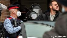 Spanien Festnahme von spanischen Pablo Hasel